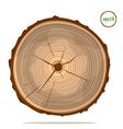 Tree-rings vector image
