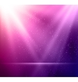 Abstract magic violet light background vector image vector image
