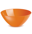 Bowl isolated vector image vector image