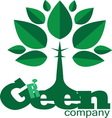 green4 vector image vector image