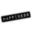 Happiness rubber stamp vector image