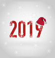 happy new year 2019 eps file vector image