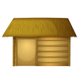 Hut house vector image vector image