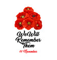 we will remember them vector image