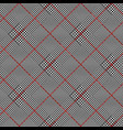 glen plaid pattern vector image vector image