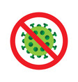 virus or bacteria icon vector image vector image