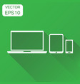 device gadget icon business concept computer vector image