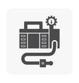 air compressor pump vector image vector image