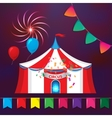 Big Top Circus Tents with decorative elements