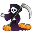 halloween character image 3 vector image