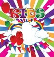 kids 5 vector image vector image