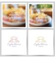 menu logo vector image vector image