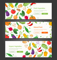 natural food - set of modern colorful vector image vector image
