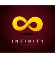the symbol infinity vector image