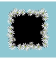 Daisy frame sketch for your design vector image vector image