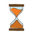 Drawing clock glass sand business