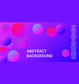 gradients balls shapes vector image vector image
