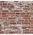 old red brick wall vector image