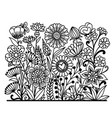 repeatable flower vector image