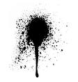 Black graffiti aerosol spray paint vector image vector image