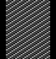 Black weave texture geometric seamless background vector image vector image