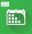 calendar agenda icon business concept calendar vector image vector image