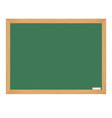 Class board with chalk vector image vector image
