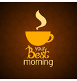 coffee cup 2 vector image