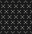 crosses seamless pattern traditional ethnic style vector image vector image