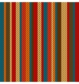 striped pattern on the wool knitted texture vector image