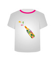 T Shirt Template- celebration vector image vector image