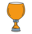 trophy cup isolated icon vector image vector image