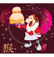Year of the Monkey Cartoon Character vector image vector image