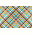 seamless fabric texture plaid blue madras vector image