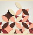 abstract geometric background for cards covers vector image vector image