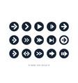 Arrow icon collection design