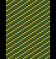 Green weave texture geometric seamless background vector image vector image