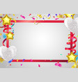 happy birthday colorful flat design vector image