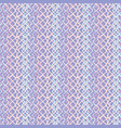 lilac abstract fish net loop pattern vector image vector image