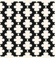 ornamental seamless pattern in ethnic style black vector image