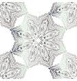 seamless silver texture vector image vector image