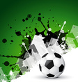 abstract background of football vector image vector image