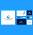 architectural logo design and business card