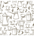 Coffee seamless pattern design