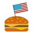 hamburger icon isolated vector image