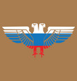 image of an eagle with two heads vector image