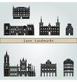Leon landmarks and monuments