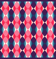 retro mosaic pattern vector image