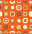 seamless abstract mid century modern pattern vector image vector image