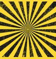 seamless grunge security yellow black diagonal sun vector image vector image